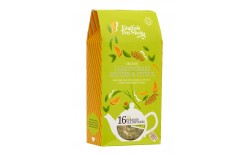 English Tea shop Lemongrass Ginger & Citrus 16 tepokar