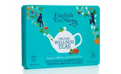 English Teashop Wellness Blue Tin 36 tepokar