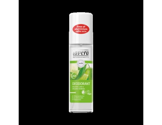 Lavera Svitaeyðir Lime spray 24hour 75 ml.