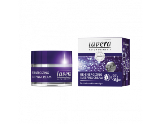 Lavera Re-Energizing sleeping cream 50 ml.