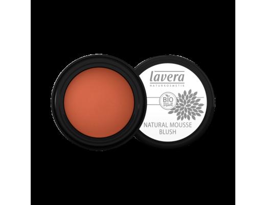 Lavera Natural Mousse Blush Soft Cherry 02