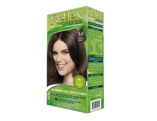 NATURTINT Reflex 5.0 hárskol #Light Chestnut Brown