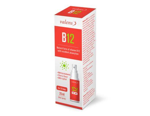 Valens B12-vítamín munnúði 25 ml.