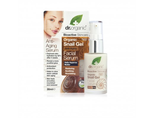 Dr. Organic Snail Gel Facial Serum 30 ml.