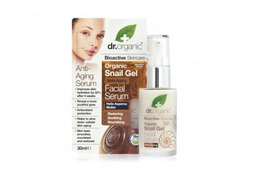Dr. Organic Snail Gel Facial Serum 30 ml.