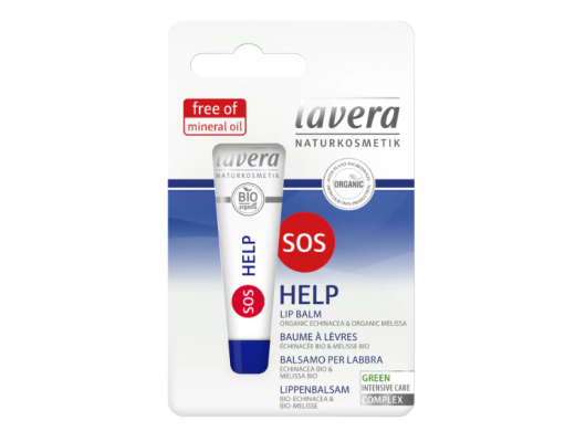 Lavera SOS Help varasalvi 8 ml.