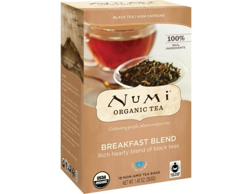 Numi Breakfast blend 18 tepokar