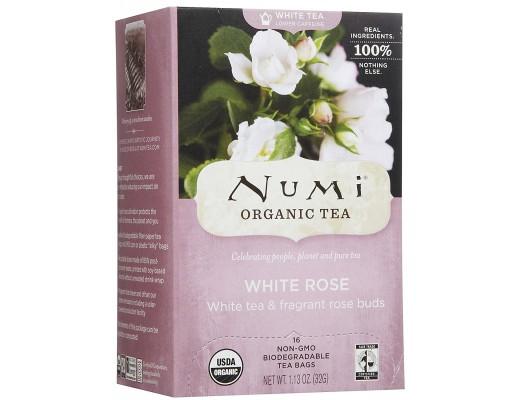 Numi White Rose 16 tepokar