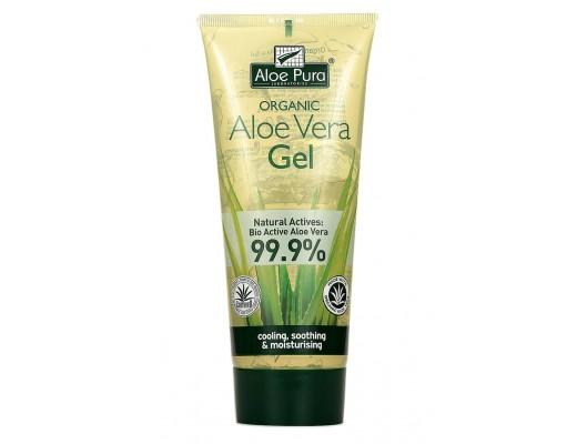 Aloe Pura Aloe Vera Gel með A,C,E vítamínum 200 ml.