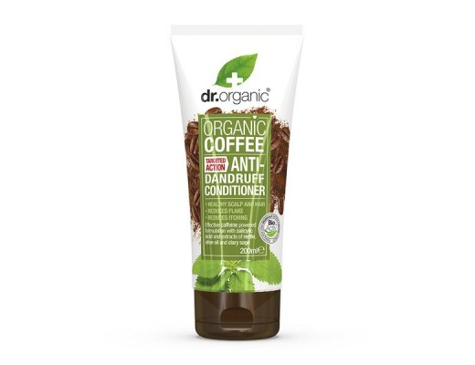 Dr. Organic Coffee flösu hárnæring 200 ml.