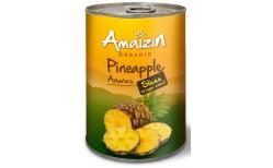 Amaizin Ananassneiðar 400 gr.