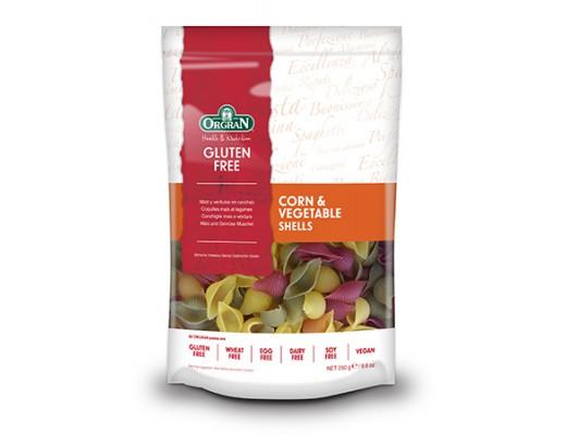 Orgran Corn & vegatable pasta shells 250 gr.