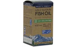 Wileys Wild Alaskan Fish Oil Easy Swallow 630mg, 60 hylki