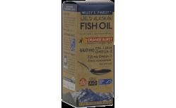 Wileys Wild Alaska Fish Oil Orange Burst 660mg, 250 ml.