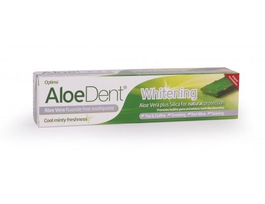 Optima Aloe vera tannhvíttunartannkrem án flúors 100 ml.