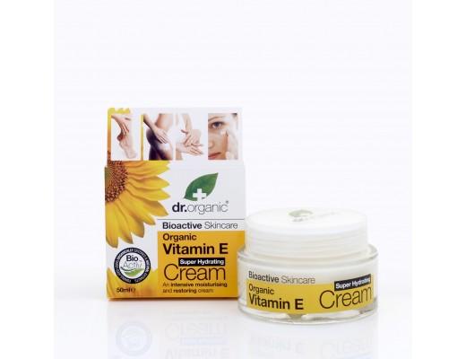 Dr. Organic Vitamin E Super Hydrating Cream 50 ml.