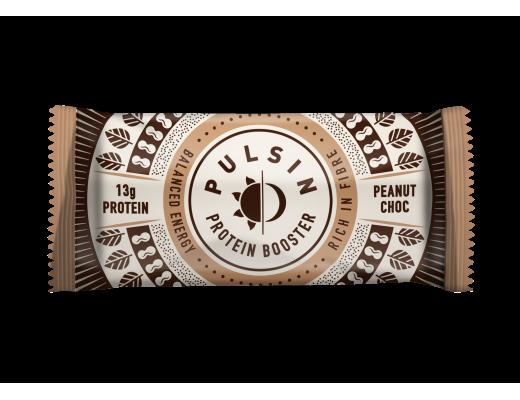 Pulsin Peanut Choc Brownie orkustykki 50 gr.