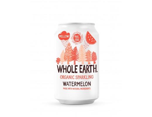 Whole Earth Organic Sparkling Watermelon 330 ml.