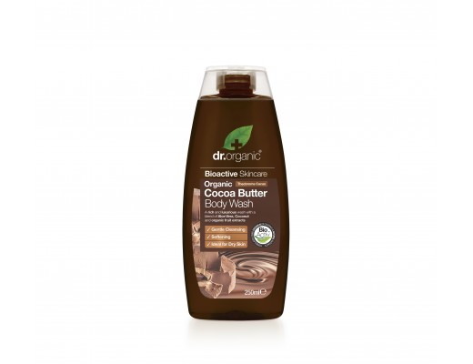 Dr. Organic Cocoa Butter Body Wash 250 ml.