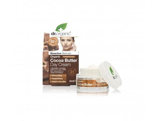 Dr. Organic Cocoa Butter dagkrem 50 ml.