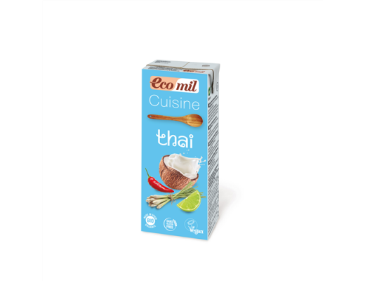 Ecomil rjómi Thai BIO 200 ml.