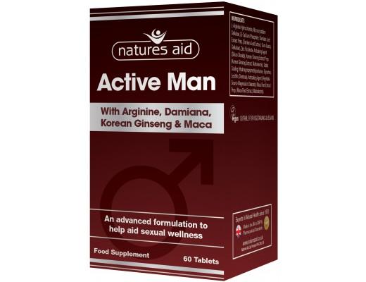 Natures Aid Active Man 60 töflur