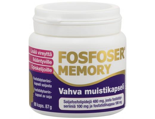 Fosfoser Memory - bætir minnið 90 hylki