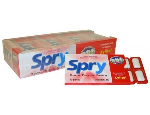 Spry Xylitol cinnamon gum 10 stk.