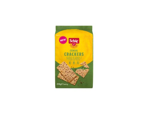 Schar Cereal Crackers Seed 210g