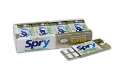 Spry xylitol Green Tea gum 10 stk.