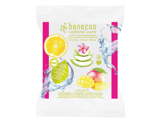 Benecos Natural Care Happy hreinsiklútar 25 stk.