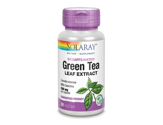 Solaray Green Tea Extract  250mg, 30 stk.