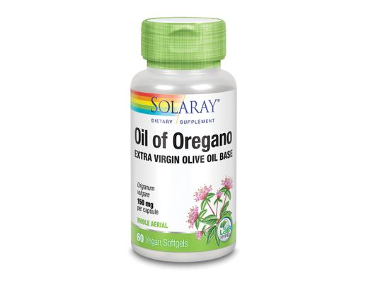 Solaray Oil of Oregano 150mg, 60 mjúk hylki