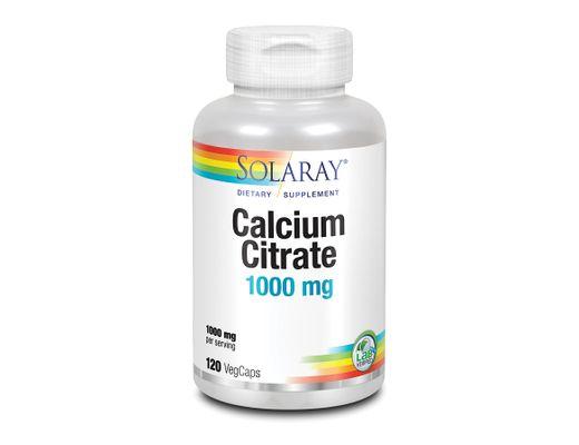 Solaray Calsium Citrate 120 hylki