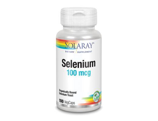 Solaray Selenium 100 mcg, 100 hylki