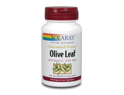 Solaray Olive leaf Extract 22% 30 hylki