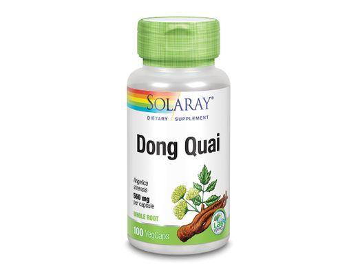 Solaray Dong Quai 550mg, 100 hylki
