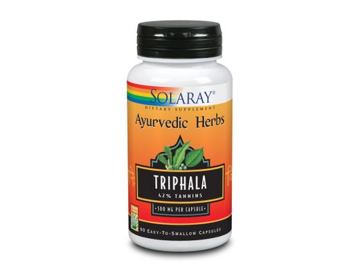 Solaray Triphala 500mg 90 hylki