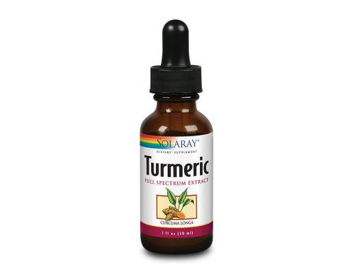 Solaray Turmeric dropar