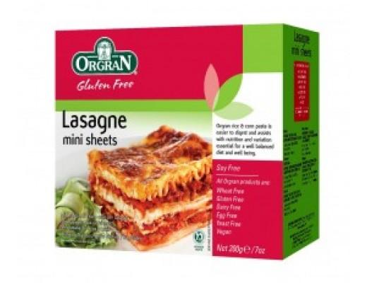 Orgran Rice & Corn Lasagne 250 gr.