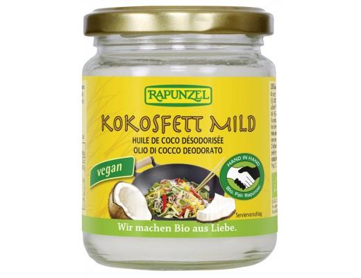 Rapunzel kókosolía mild bragð-og lyktarlaus 200 gr.