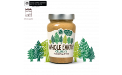 Whole Earth hnetusmjör Crunchy 227 gr.
