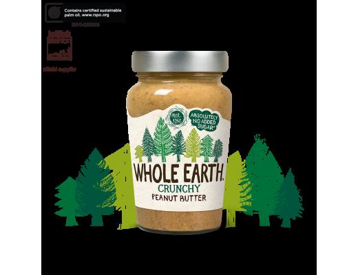 Whole Earth hnetusmjör Crunchy 227 gr.