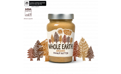 Whole Earth hnetusmjör Smooth original 340 gr.