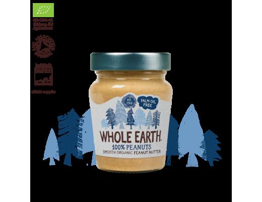 Whole Earth hnetusmjör lífrænt Smooth 227 gr.