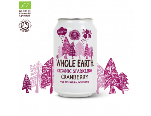 Whole Earth Food Trönuberjagos 330 ml.