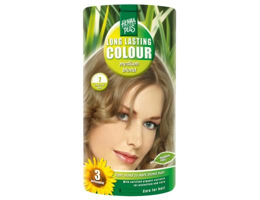 Henna Plus Long lasting hárlitur Copper #7 Medium blonde