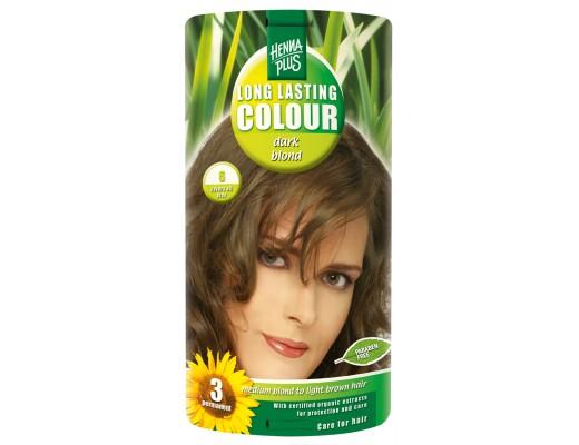 Henna Plus Long lasting hárlitur #6 Dark blonde