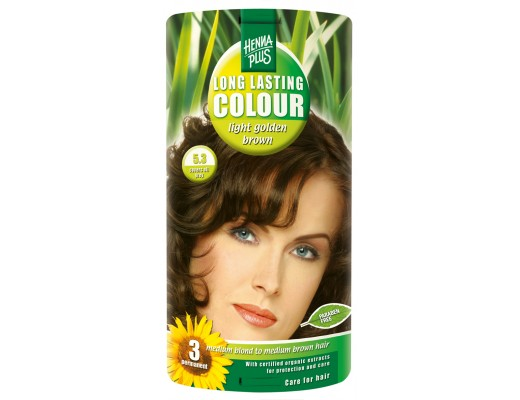 Henna Plus Long lasting hárlitur Light golden brown