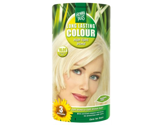 Henna Plus Long lasting hárlitur #10.00 High light blonde
